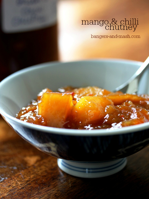 mango and chilli chutney web text