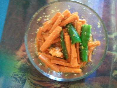 4. Carrot & Green Chilli Pickle