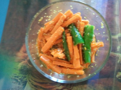 4. Carrot & Green Chilli Pickle