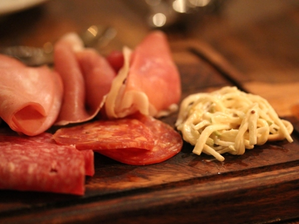 Charcuterie with remoulade