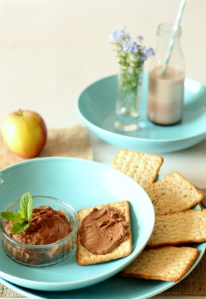 6. Chocolate Hummus