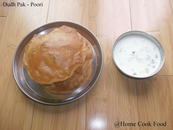 9. Indian Rice Pudding & Puris