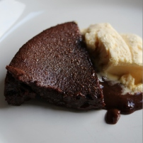 hot chocolate fudge pudding