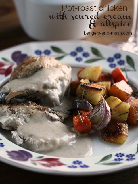 Pot roast allspice chicken text