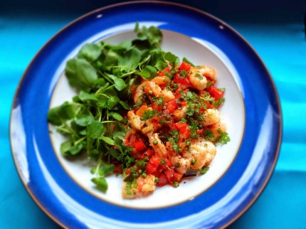 12. Cambodian Green Peppercorn Prawns