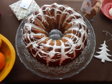 25. Fig and Mincemeat Bundt Cake