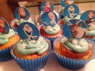 13. Dairy-free Vegan Frozen Cupcakes