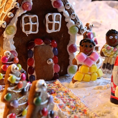 23. Gluten-free Gingerbread House