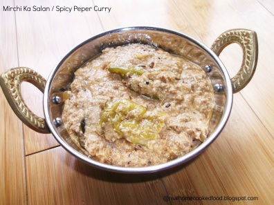 7. Spicy Pepper Curry
