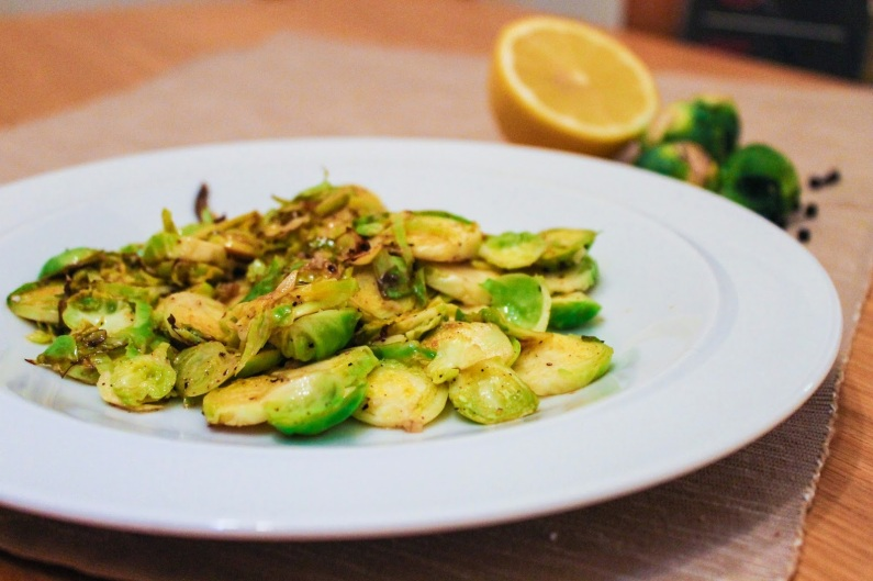 8. Sprouts with Lemon & Black Pepper
