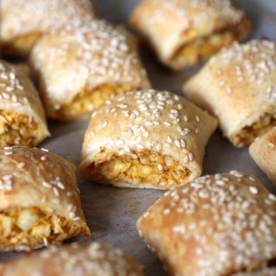 2. Vegetarian Sausage Rolls