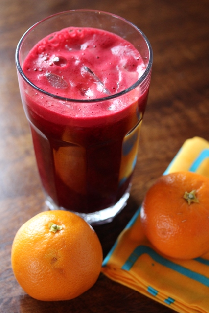 beetroot orange carrot and ginger juice2