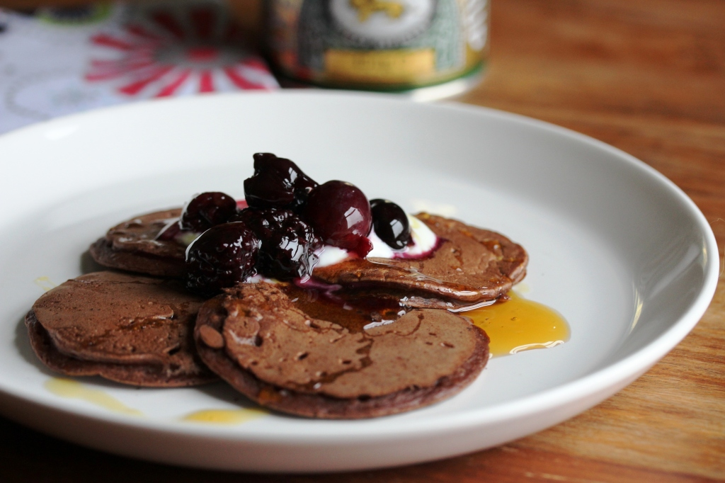Chocolate pancakes2 web