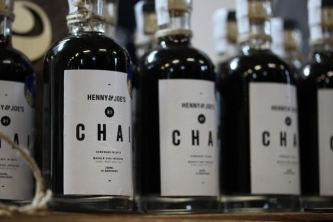 Henny & Joe's delicious chai syrup