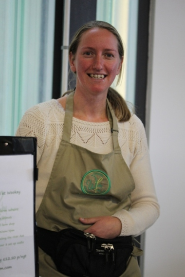 Sarah from Wookey Farm