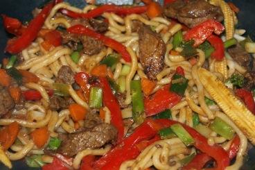 22. Beef Stir Fry