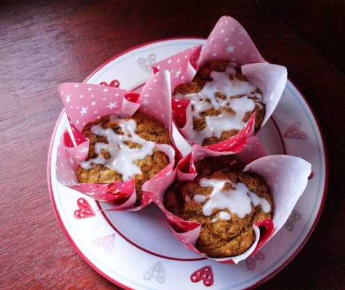 33. Sweet Potato, Ginger & Lemongrass Muffins
