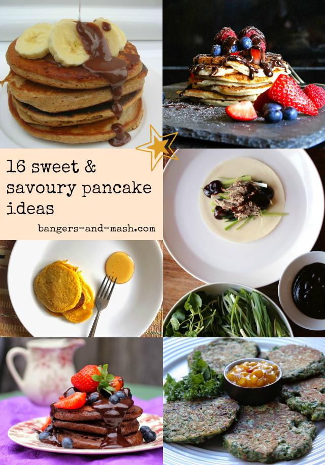 Pancake Collage