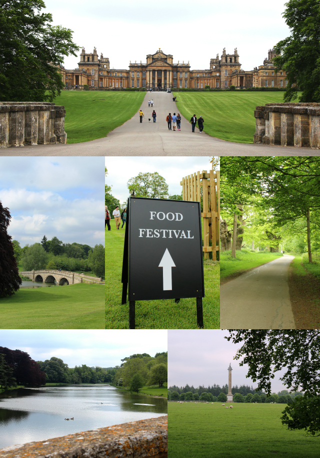 Blenheim Palace Collage