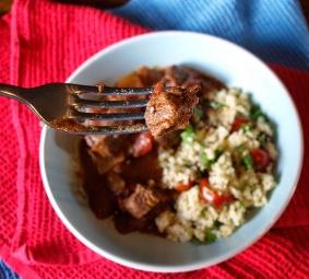 4. Slow Cooked Lamb Ras-el-Hanout