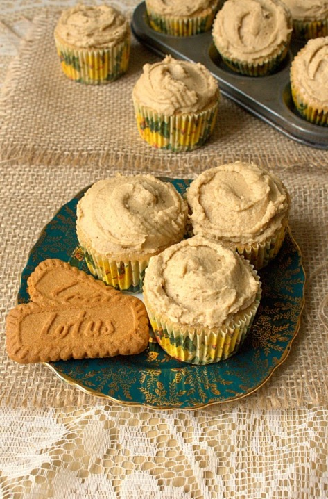 11. Speculaas Spiced Cupcakes