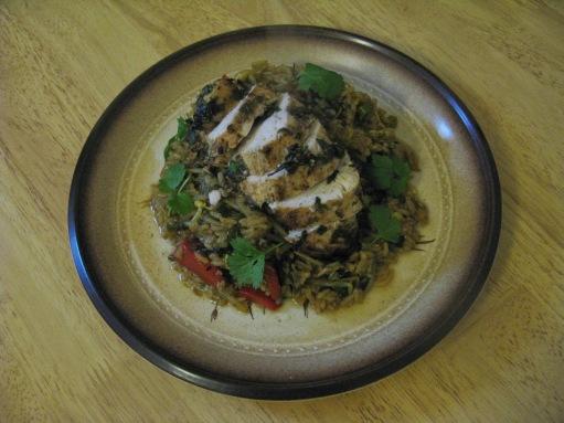 7. Spiced Chicken with Jasmine Thai Rice