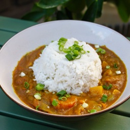 1. Vegetarian Japanese Curry