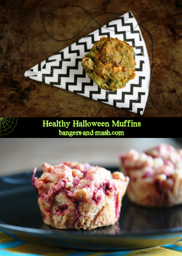 Halloween Muffin Collage