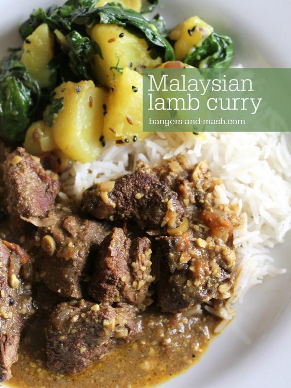 Malaysia lamb curry text