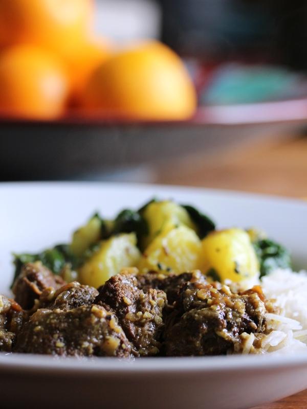 Malaysia lamb curry