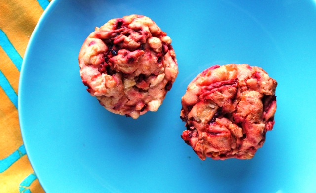 red muffins