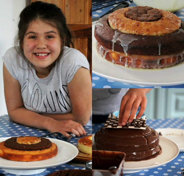 Chess Cake Collage