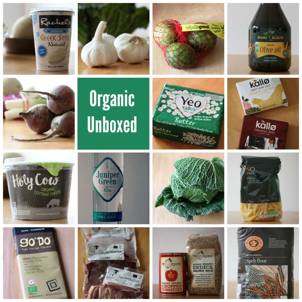#OrganicUnboxed Collage