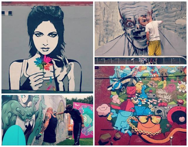 Upfest Collage
