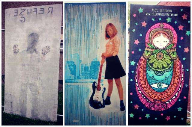 Upfest3 Collage