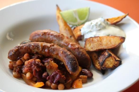 sausage-chilli