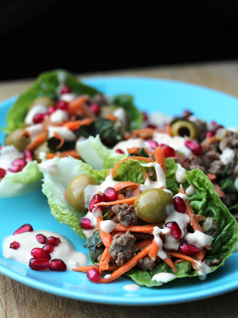 middle eastern lamb lettuce wrap 2 - web